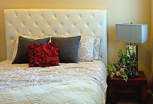 Los dormitorios en la vivienda