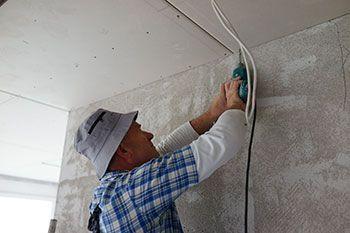 Falso techo pintura