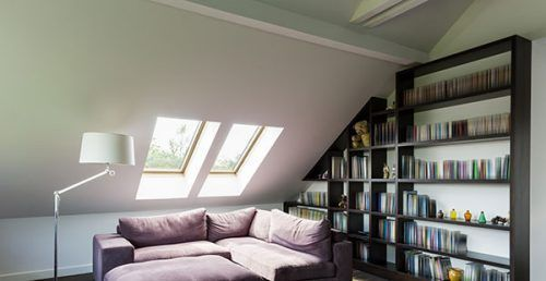Aislamiento térmico techo buhardilla